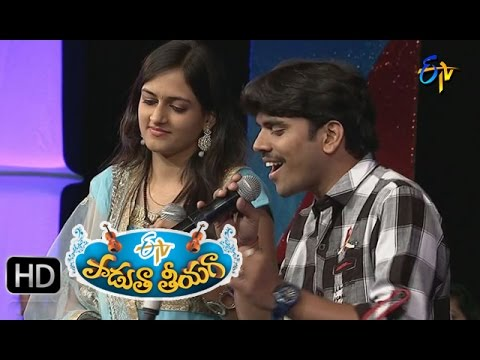 Pacha Bottasi Na Song - Surya Karthik, Harika Performance in ETV Padutha Theeyaga - 28th March 2016