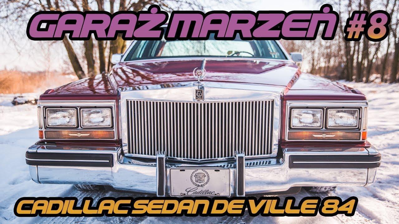 GARAŻ MARZEŃ #9 CADILLAC Sedan de Ville '84