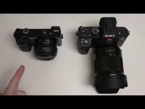 Sony Alpha A7II vs A6000
