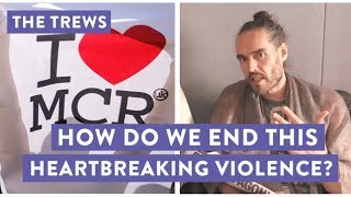 How Do We End This Heartbreaking Violence? Russell Brand The Trews (E423)