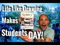 Life Like Drawing Makes College Students Smile | magic prank