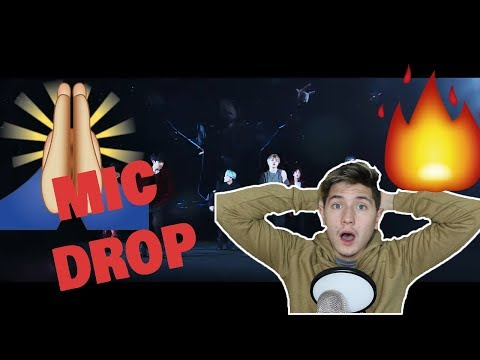 (non-KPOP fan reacts) BTS (氚╉儎靻岆厔雼�) 'MIC Drop (Steve Aoki Remix)' Official MV REACTION