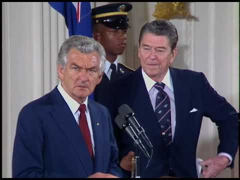 President Reagan's Remarks Following Discussions With PM Hawke of Australia on June 23, 1988