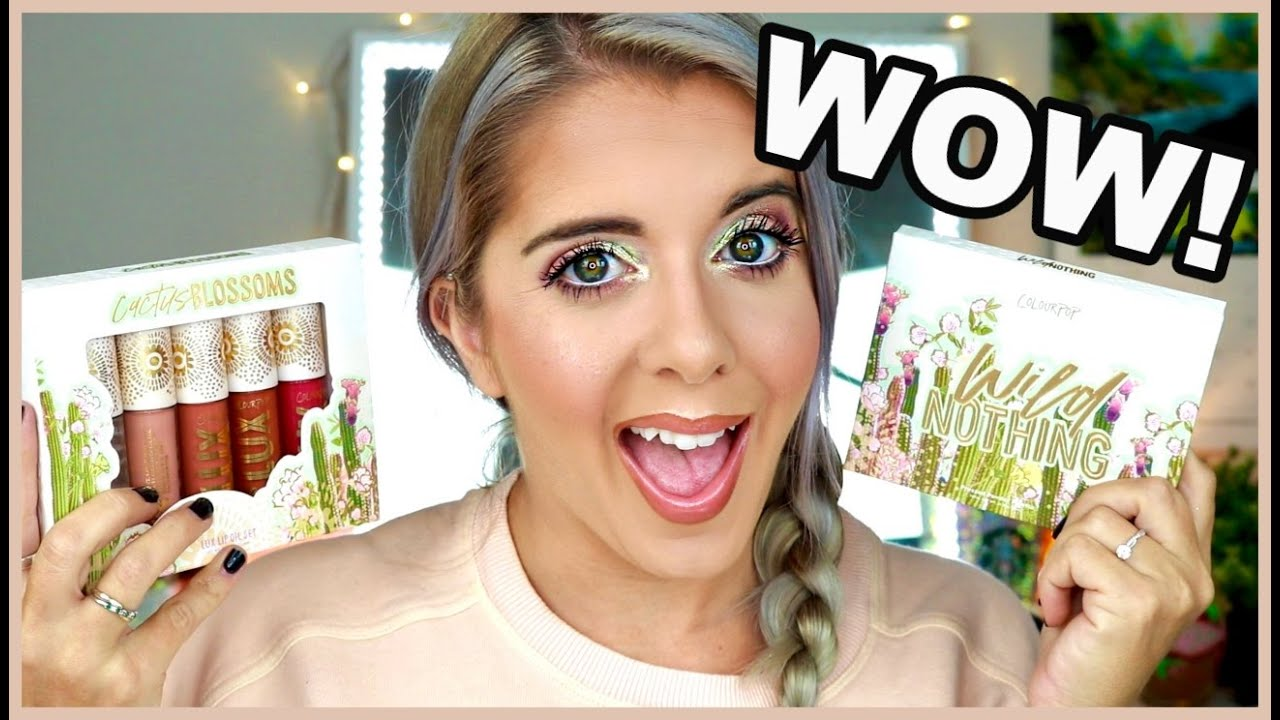 COLOURPOP WILD NOTHING COLLECTION ||YOU DON'T WANT TO SIT ON THIS!! ||
