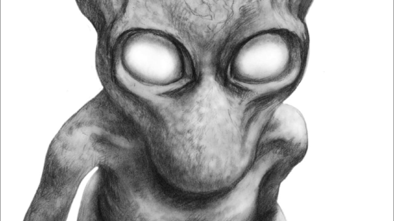 Google Desenhar Rosto: The Rake Creature.