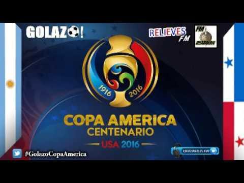 COPA AMERICA 2016 - Argentina vs Panama - Golazo! Radio FM Guardian y FM Relieves