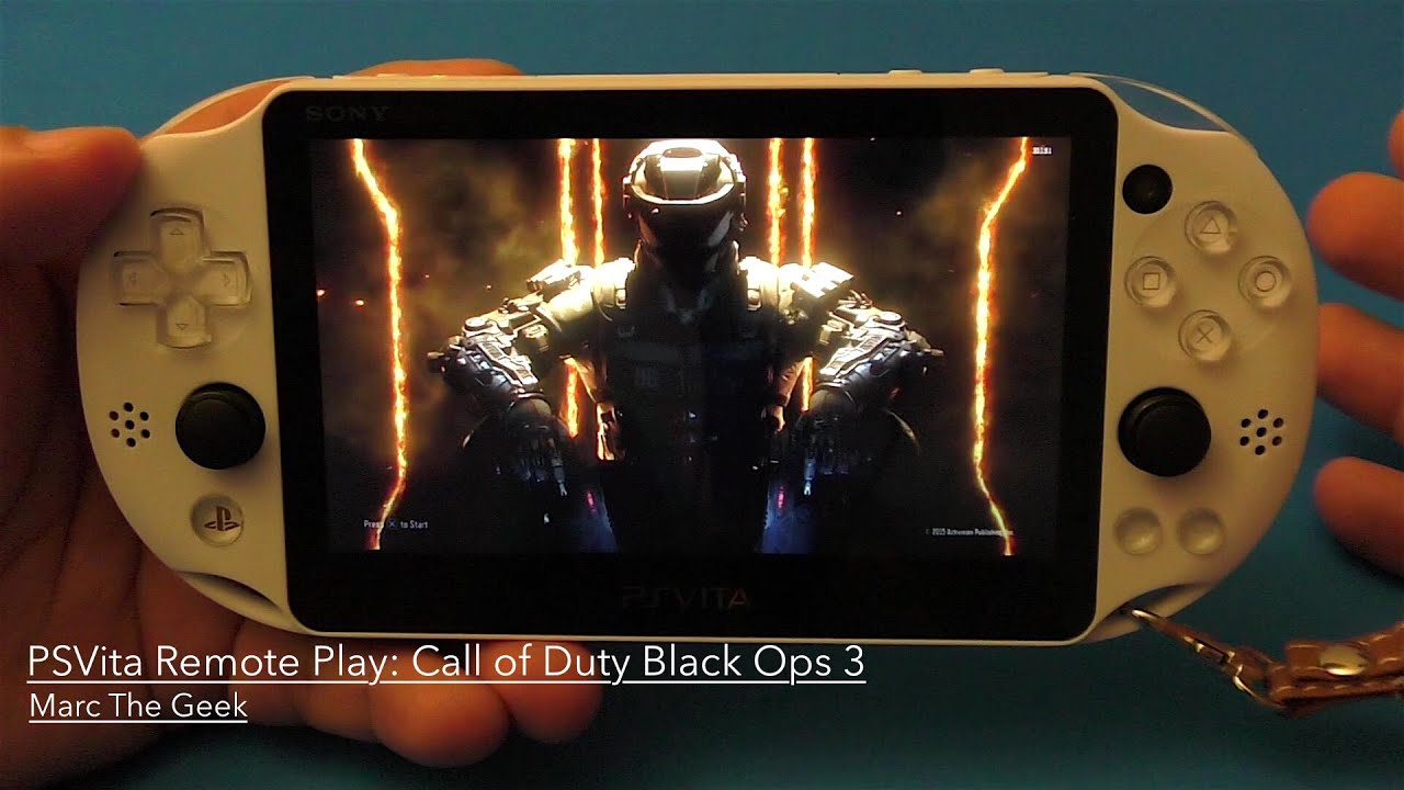 psvita remote play: call of duty black ops 3 - youtube