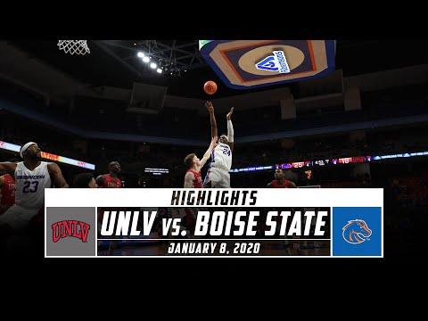 UNLV Vs. Boise State Basketball Highlights (2019-20) | Stadium