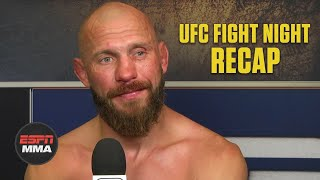 Donald Cerrone talks heartbreaking loss, what's next after #UFCVegas26 | ESPN MMA