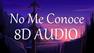 Jhay Cortez, J. Balvin, Bad Bunny - No Me Conoce (8D AUDIO) 360° Remix