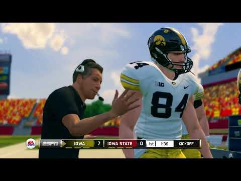 NCAA Football 14 Season 2017 2018 Iowa Hawkeyes vs Iowa State Cyclones