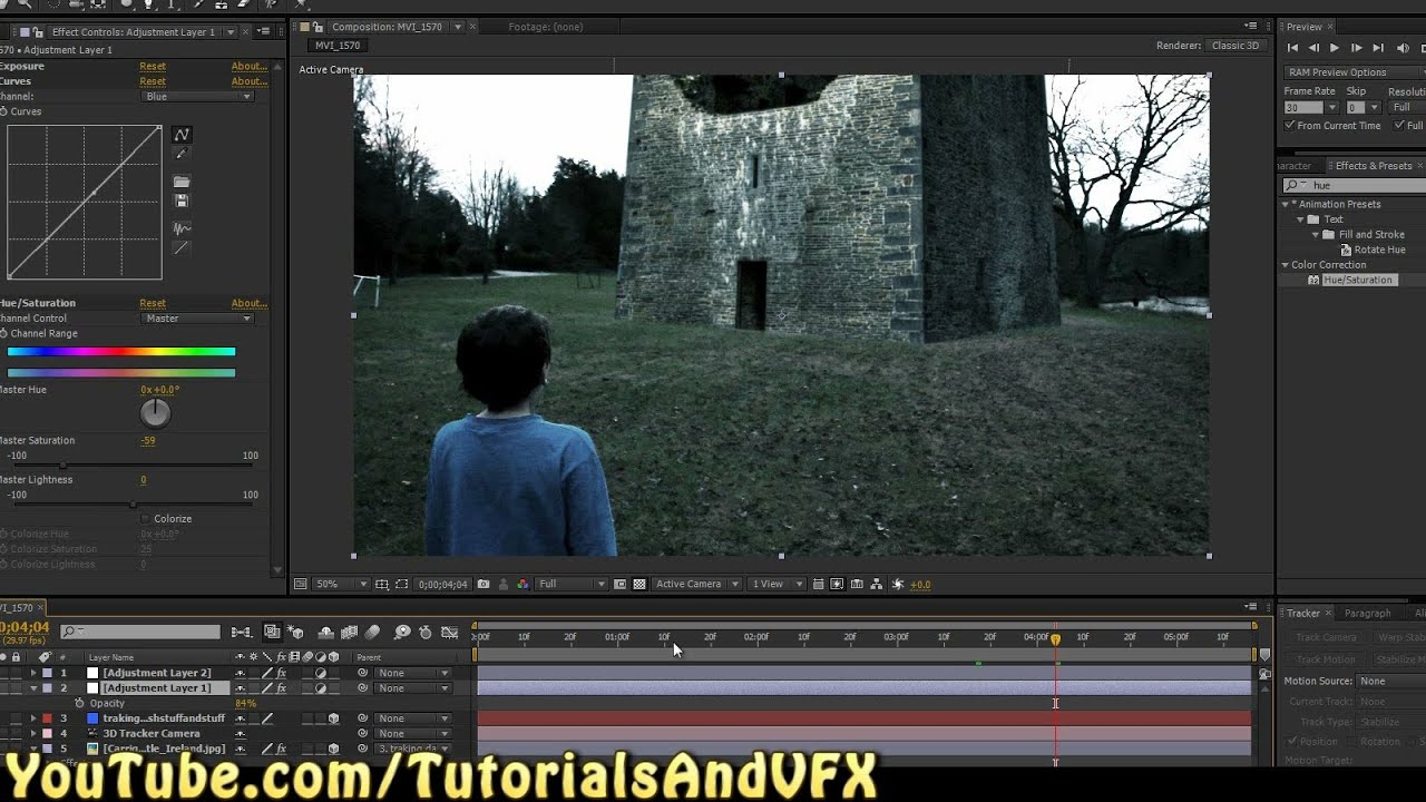 put a castle in your backyard after effects cs6 tutorial how