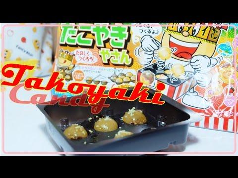 ของเล่นญี่ปุ่น ทาโกะยากิ ของเล่นกินได้ Meiji Takoyaki Candy Set