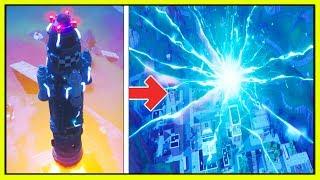 FORTNITE ROCKET LAUNCH! (UFOs & Aliens?) | Rocket Launch Live! (Season 5 Theories!)