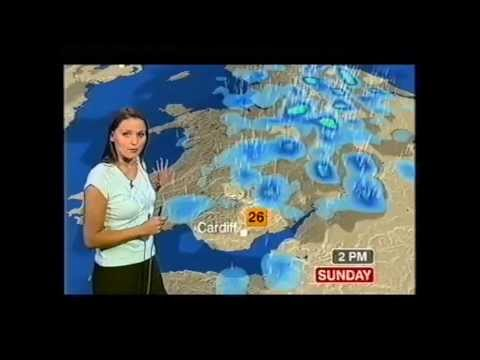 BBC Weather 19th June 2005: 33.1°C at London Weather Centre