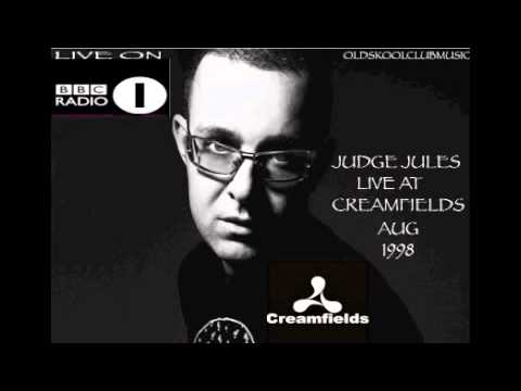 Judge Jules - Live At Creamfields - Aug 1999