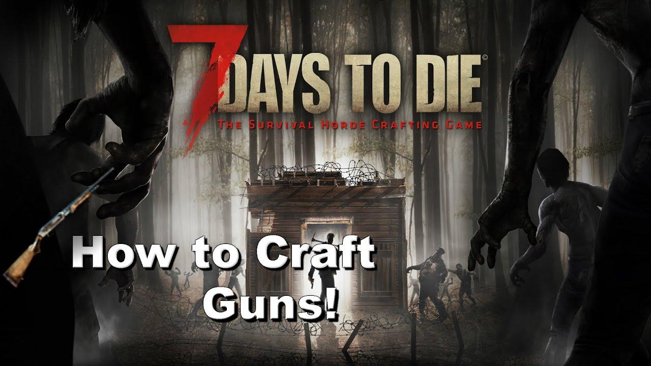 Days To Die Craft Guns
