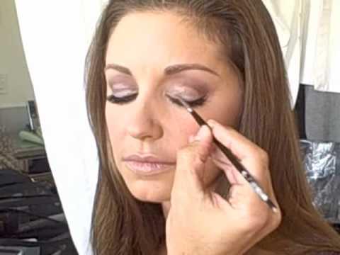 Bianca Kajlich gets ready for the Emmy's wBrett