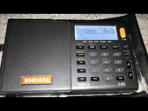 DXing in Florida with XHDATA D-808 & Bonito MA305: Sudan Radio 7205 kHz, Al Aitahab, Sudan