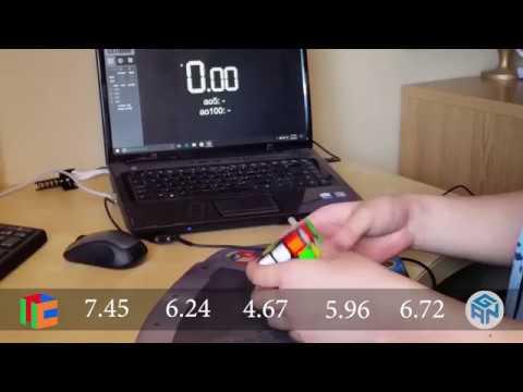 Rubik's cube 3x3 (best: 4.67) (ao5: 6.31)