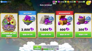 How many ways to collect gems in Dragon Mania Legends ?