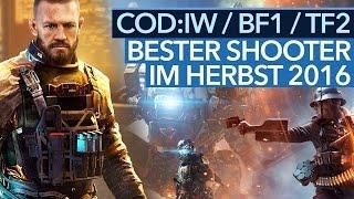 CoD Infinite Warfare vs. Battlefield 1 & Titanfall - Welcher ist der beste Shooter im Herbst 2016?