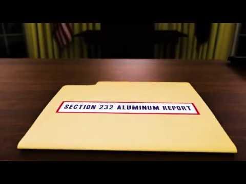 Aluminum Now: President Trump, Support American Aluminum