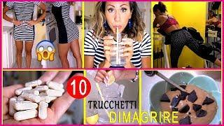 10 TRUCCHETTI ANTI-FAME per DIMAGRIRE SENZA FARE LA DIETA!!!!   Carlitadolce