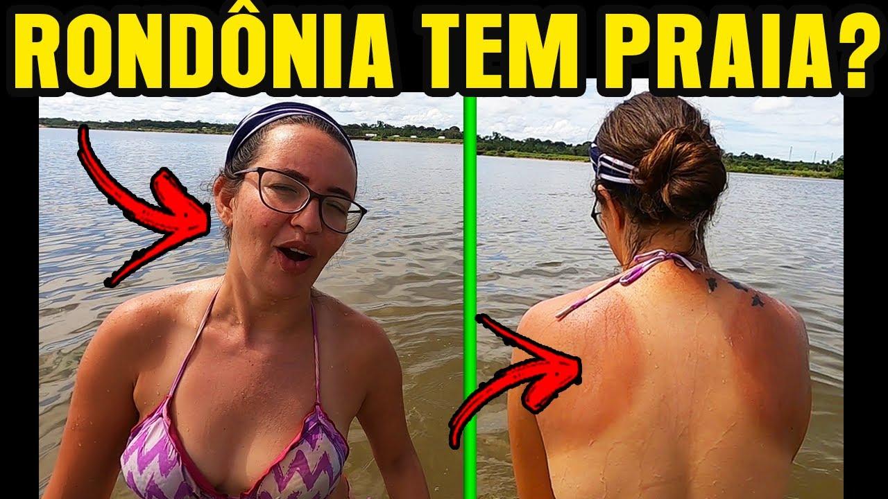 O SOL DE RONDÔNIA FAZ ISSO COM VOCÊ! Encontramos uma praia em Jaci Paraná