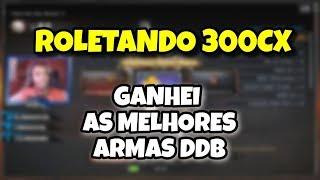 ROLETEI 300CX DDB | GANHEI AS MELHORES | CROSSFIRE AL