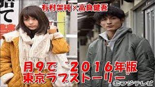 東京で生きる若者たちの切ない恋物語で、脚本は「東京ラブストーリー」...
