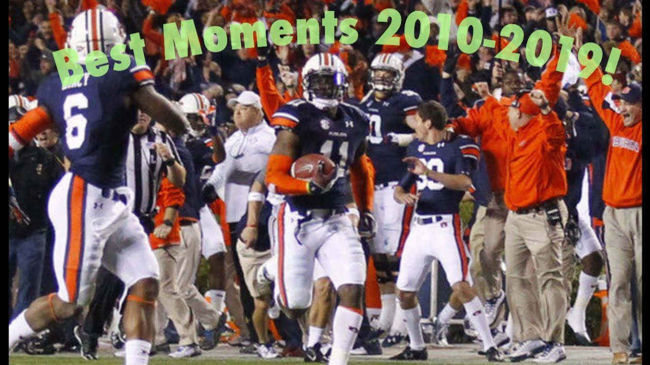 THE BEST NFL/COLLEGE FOOTBALL MOMENTS THIS DECADE! (2010-2019) Part 1