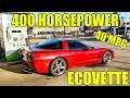 The World's First Eco-Corvette Is Complete! SMASHED 40 MPG Without Sacrificing ANYTHING! EcoVette!