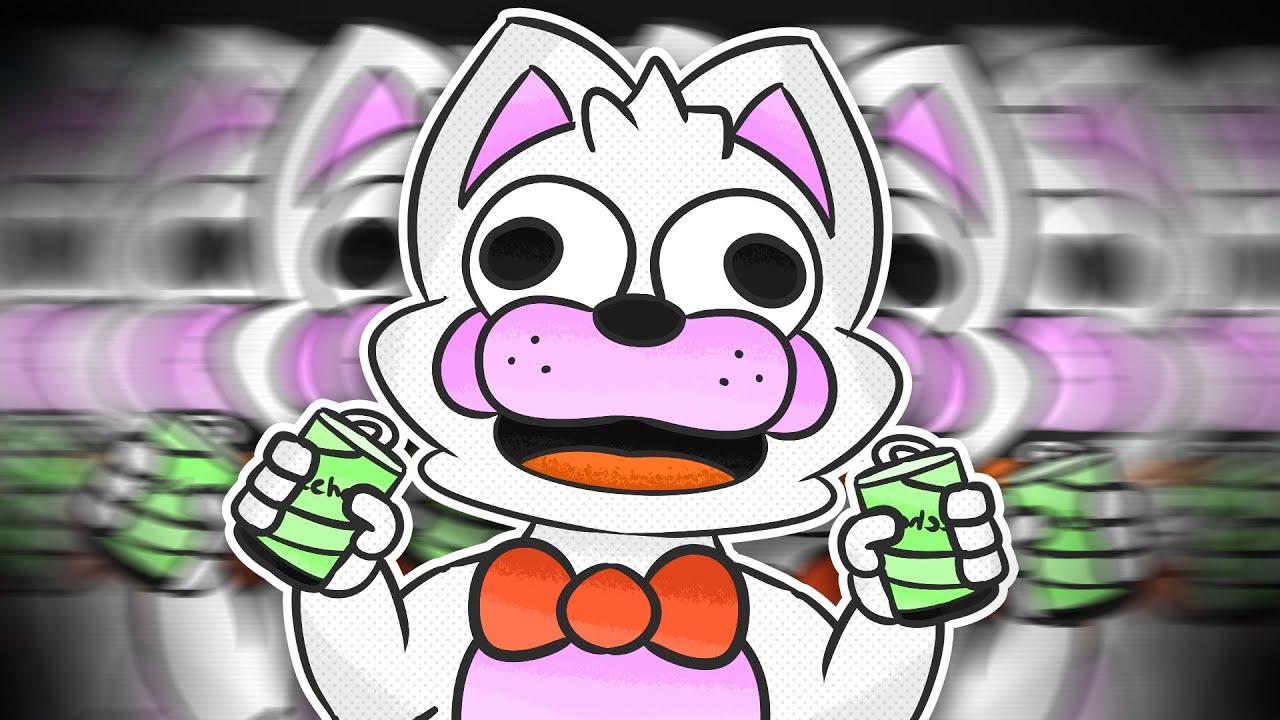 Minecraft Fnaf Funtime Foxy Is HYPER (Minecraft Roleplay)