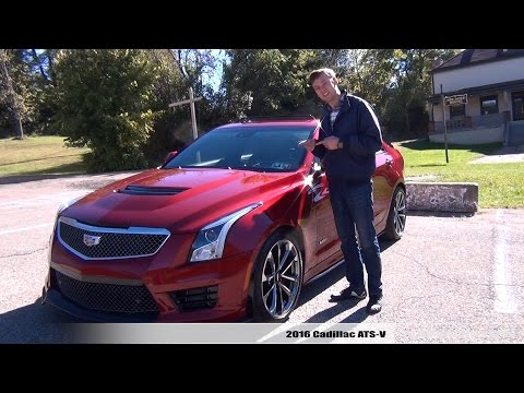 Review: 2016 Cadillac ATS-V (Automatic)