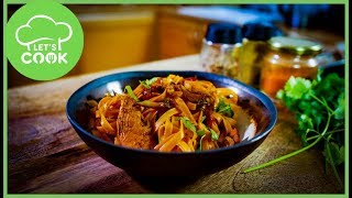 Asiatisches 10-min Rezept mit Hähnchen & Honig-Sojasauce