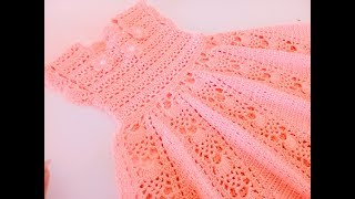 Vestido tejido a crochet o ganchillo - 1 de 2