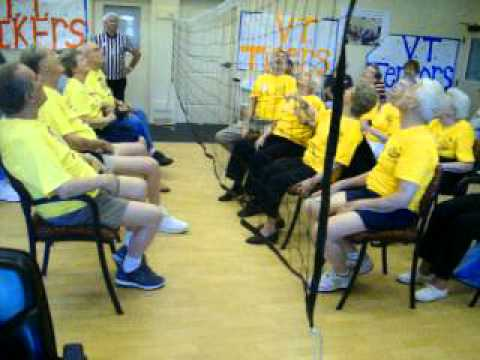 chair volleyball. as seen on jimmy kimmel live may 24 2017 senior chair volleyball tournament 2012