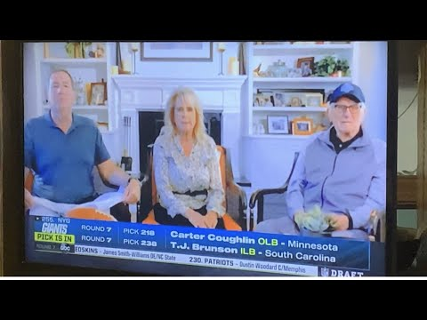 Melanie Fitch Livestream On 2021 Mr. Irrelevant And Irrelevant Week In Cleveland For NFL Draft