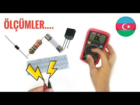 Multimetrede Nece ölçüm Edirik ? (UT 33 B+)