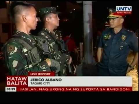 NCRPO Chief, ininspeksyon ang ilang checkpoint sa Taguig