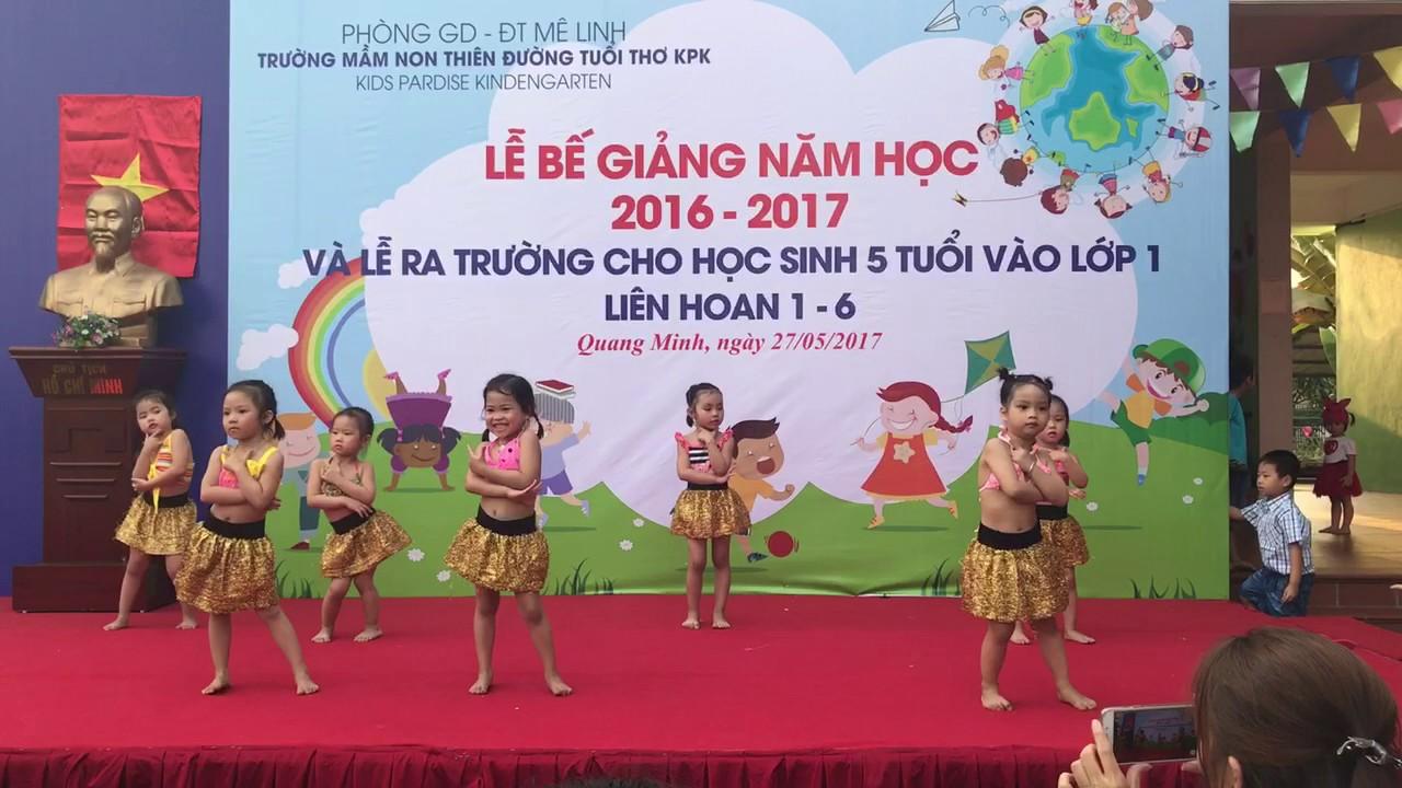 Múa MIMIMI của các bé 3 tuổi trường KPK