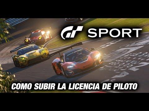 GT Sport - Como subir la licencia de piloto