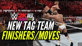 WWE 2K16 New Tag Team Finishers / Moves