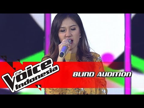 Ayu - Englishman In New York | Blind Auditions | The Voice Indonesia GTV 2018