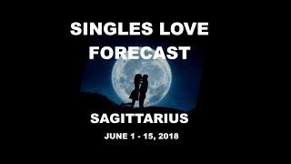 SAGITTARIUS JUNE 1-15 SINGLES LOVE FORECAST  ♐️ 💜 ALIGNED LOVER, BALANCED RELATIONSHIP