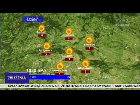Prognoza Pogody TVP3 Bydgoszcz 23-24.03.2020