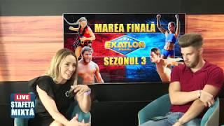 Editie speciala Stafeta mixta | Andreea Zaragiu si Cristi Dumitrache, despre Finala Exatlon!