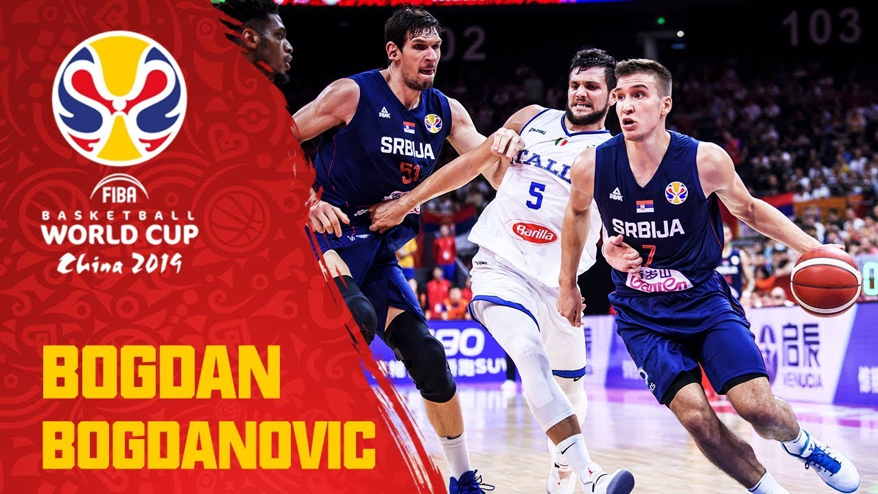 Bogdan Bogdanović 31pts 5ast 4reb Did It All For Serbia V Italy Fiba Basketball World Cup 2019