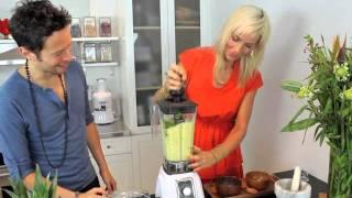 Pineapple Cucumber Gazpacho Recipe With Tv Host Jason Wrobel & Organic Avenue